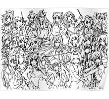 Anime Main Heroine Poster Poster