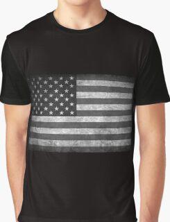 Old Glory BW  Graphic T-Shirt
