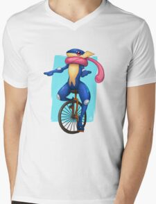 Here Comes Dat Greninja Mens V-Neck T-Shirt