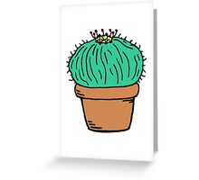 Bloated Cactus Greeting Card