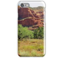 Red Rocks at Sedona, Arizona iPhone Case/Skin