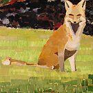 """Red fox"" by Richard Robinson"