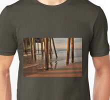 Shadows & Reflections ....under the pier! Unisex T-Shirt