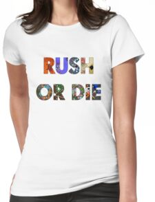Realm of the Mad God - Rush or Die Womens Fitted T-Shirt