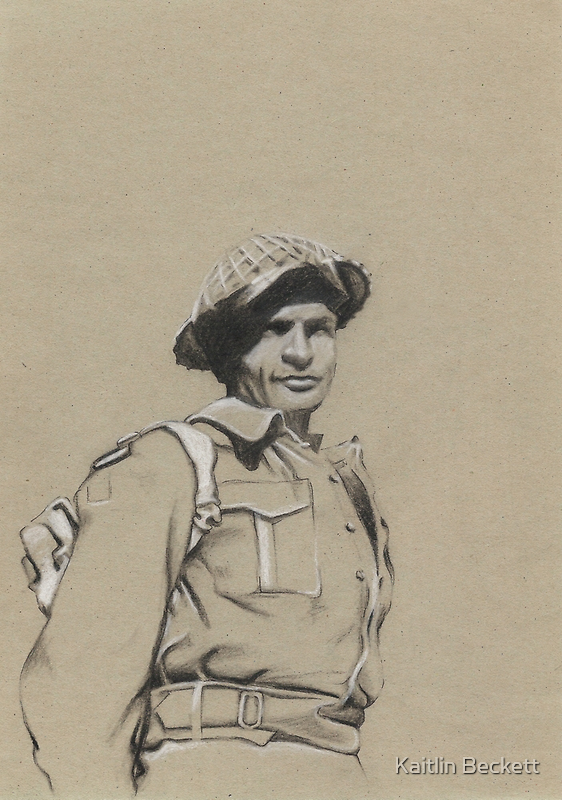 Charles Upham VC and Bar by Kaitlin Beckett