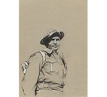 Charles Upham VC and Bar Photographic Print