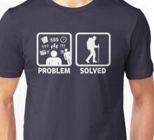 Hiking Problem Solved Unisex T-Shirt