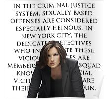 Benson and SVU intro Poster