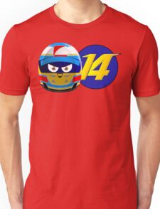 Fernando ALONSO_Helmet 2014 Unisex T-Shirt