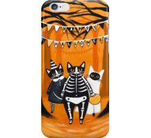 The Halloween Cats iPhone Case/Skin