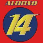 Fernando ALONSO #14_2014 by Cirebox