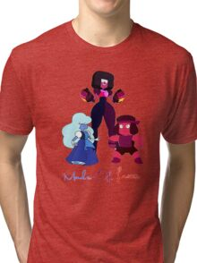 "Garnet, Sapphire and Ruby ""Made of Love"" Tri-blend T-Shirt"
