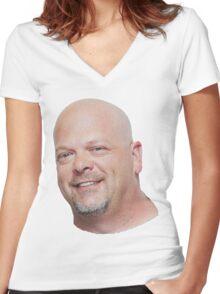 Rick Harrison Women's Fitted V-Neck T-Shirt