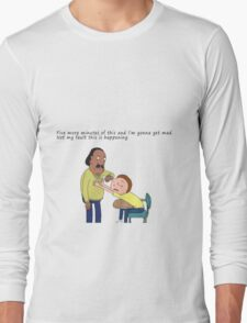 Rick And Morty: Mr. Goldenfold Long Sleeve T-Shirt