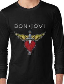 bon jovi best logo vector dolly Long Sleeve T-Shirt
