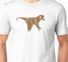 Origami Monkey illustration Unisex T-Shirt