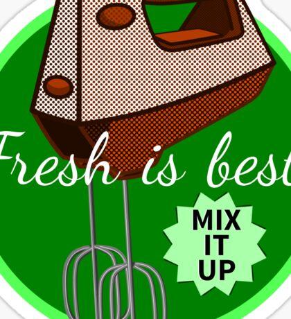 Mix it up Mixer Sticker