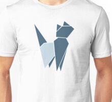 Origami Cat illustration Unisex T-Shirt