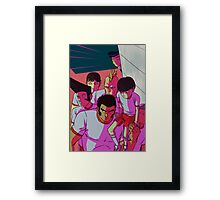 MP100 - Don't Mess With The Body Improvement Club Framed Print