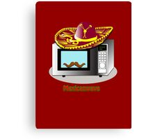 Mexican Wave - Mexican Microwave Canvas Print