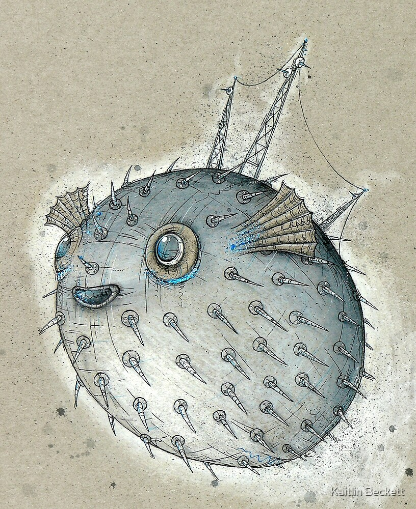 Porcupinefish by Kaitlin Beckett
