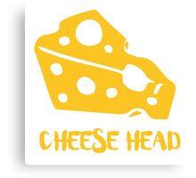Cheese Head Canvas Print