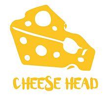 Cheese Head Photographic Print