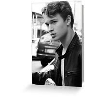 Augustus Waters Cigarette Print Greeting Card