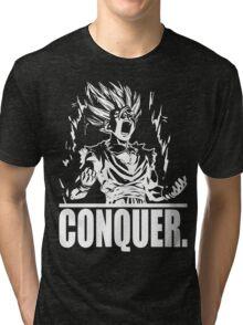 CONQUER (Teen Gohan) Tri-blend T-Shirt