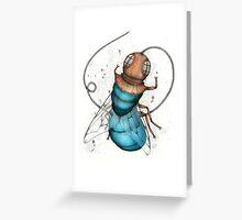 Deep Sea Fly Greeting Card