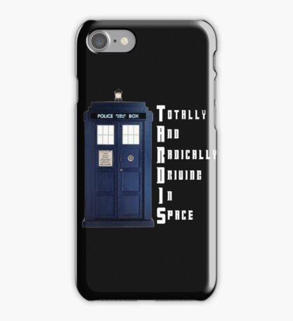The Real Meaning of TARDIS iPhone Case/Skin
