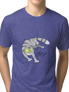 Eddie the Cat Tri-blend T-Shirt
