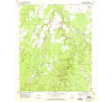 USGS TOPO Map Arizona AZ Red Knoll 313055 1970 24000 Photographic Print