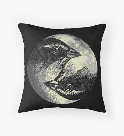 ianus vespertinus Throw Pillow