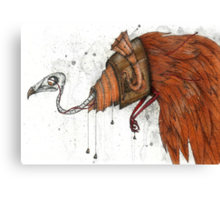 Clockwork Bird Canvas Print