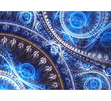 Space-time Mesh Photographic Print