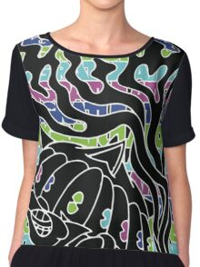 MGMT Cat Chiffon Top
