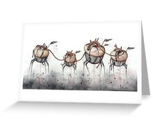 Heart Walkers Greeting Card