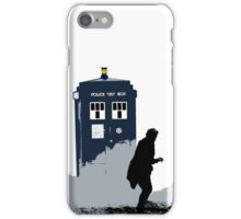 Skaro in Silhouette  iPhone Case/Skin