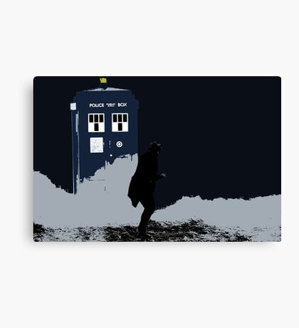 Skaro in Silhouette  Canvas Print