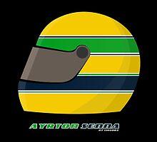 Ayrton Senna FOREVER… on my pillow... by Cirebox