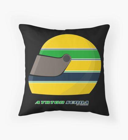 Ayrton Senna FOREVER… on my pillow... Throw Pillow