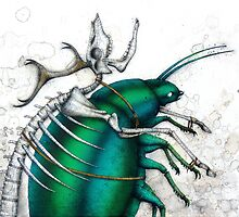 Stag Beetle by Kaitlin Beckett