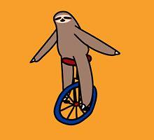Unicycle Sloth Unisex T-Shirt