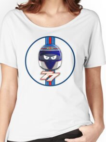 VALTTERI BOTTAS_2014_HELMET_v2 Women's Relaxed Fit T-Shirt