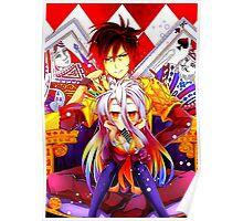 SORA AND SHIRO - NGNL Poster