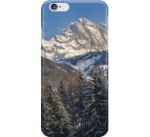 Winter Dolomites iPhone Case/Skin
