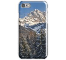 Winter Dolomites iPhone Case/Skin