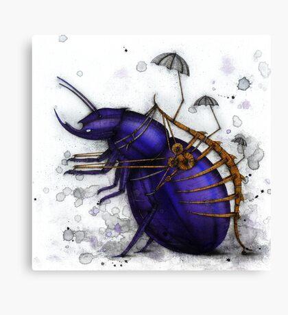 Exoskeleton Canvas Print