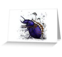 Exoskeleton Greeting Card
